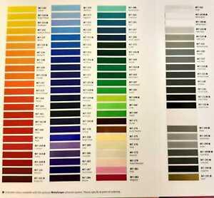 Metamark M7 Series Sign Vinyl All Colours - 760mm x 1m - Vinyl Signage Material