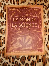 REVUE - LE MONDE ET LA SCIENCE n° 42 - Librairie Folatre