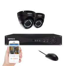 Sansco 4CH HDMI 1080N 5in1 DVR+2x IR Outdoor HD CCTV Home Security Camera System