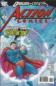 Superman Action Comics 874 Cover A First Print 2009 James Robinson Raimondi DC .