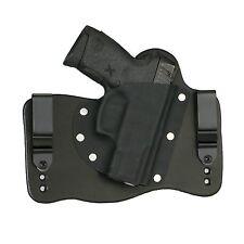 FoxX Leather & Kydex IWB Hybrid Holster Taurus Millenium G2 PT111, PT140 Black