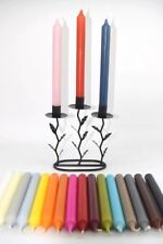 Classic Dinner Candles Bistro Style With A Tall Clean Flame Non Drip Approx 8h