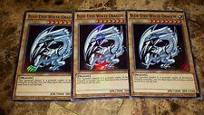 3x Blue-Eyes White Dragon - CT13-EN008 - Ultra Rare - 1st Edition - M/NM Yugioh