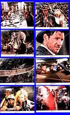 Indiana Jones Temple of Doom 1984 Harrison Ford US Lobby Card Set