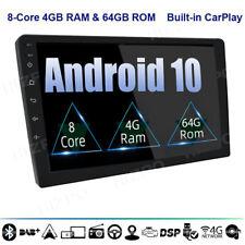 "Octa Core 2Din 10.1"" Android 10 Car Stereo Radio 4+64GB DAB+ Head Unit Universal"
