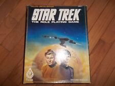 FASA Star Trek RPG Deluxe Limited Edition Box Set 2nd Edition