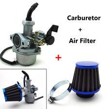 22mm Carburetor+38mm Air Filter 110cc 125cc Engine ATV Go Kart Bike Motorcycle