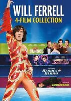 Will Ferrell 4-Film Collection [New DVD] Gift Set