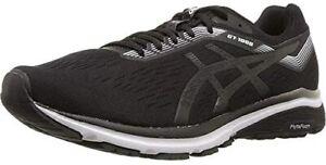 ASICS Men's GT-1000 7 Running Shoes, Black/White, 9 D(M) US