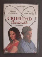 DVD CRUELDAD INTOLERABLE George CLOONEY Catherine ZETA-JONES - JOEL y ETHAN COEN