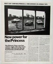 1979 Austin New Power for the Princess What Car Reprint Sales Folder