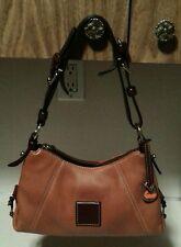 Dooney & Bourke Bag Purse Handbag Light Brown Leather one owner.