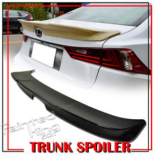 Painted #083 For Lexus IS250 IS350 IS300h 14-19 Rear Trunk Spoiler Wing ABS