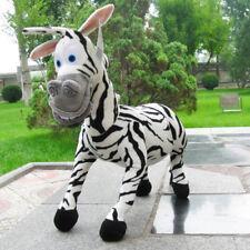 45 cm Cute Madagascar black zebra Marty stuffed Animals stuffed toys