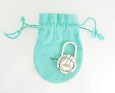 Rare Tiffany & Co.  sterling silver LA Clippers basketball ball keychain