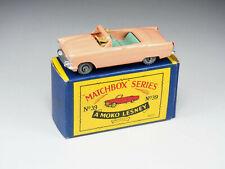 MATCHBOX - 39 - Ford Zodiac Convertible - Salmon and teal - En boite