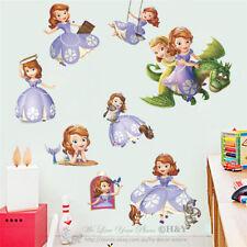 Princess Sofia Girls Removable Wall Sticker Nursery Vinyl Decal Art Mural Gift