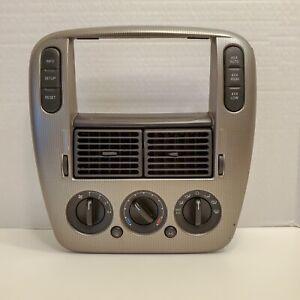 2003-2005 Ford Explorer Radio Bezel Dash Trim with Climate Control 4x4 Switch +