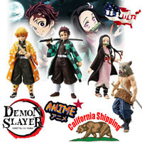 "Banpresto Demon Slayer Anime Kimetsu no Yaiba 5.5"" Action PVC Figure Toys"