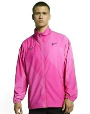 Nike Court Rafa Nadal Full Zip Fuchsia Tennis Jacket AJ8257-686 Men's Medium M