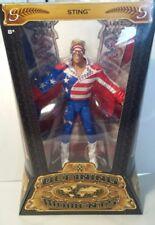 WWE WWF Mattel Elite & Definición de momentos Sting WCW lucha libre figura