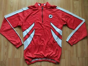 Castelli Men's Long Sleeve Thermal Cycling Jersey Size: L  NEW!