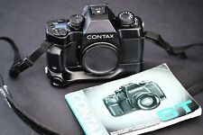 CONTAX ST + Contax P7 battery grip + Data Back - analog camera made in Japan