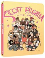 BLU-RAY STEELBOOK SCOTT PILGRIM VS THE WORLD ED. LIMITATA - NUOVO - RARISSIMO