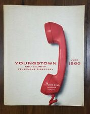 Vintage Ohio Bell Youngstown 1960 Yellow Pages Telephone Phone Address Book