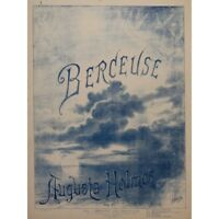 HOLMÈS Augusta Berceuse Chant Piano 1892 partition sheet music score