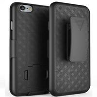 HARD SHELL COMBO CASE KICK-STAND SWIVEL CLIP HOLSTER BELT for iPhone 7/8 Plus