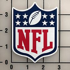 "NFL National Football League 3"" Wide Multi-Color VInyl Decal Sticker - BOGO"