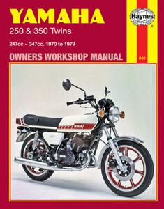 Haynes 1973-1975 Yamaha RD250-350 Twin Maintenance Service Repair Shop Manual