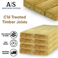 More details for treated timber joists c16 graded  3x2 4x2 5x2 6x2 7x2 8x2 9x2 8x3 4x3 6x3 8x3