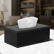 Napkin Facial Tissue PU Box Toilet Paper Dispenser Case Holder Home Hotel Car