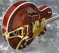 Starshine Jazz Hollow Body Electic Guitar Grover Tuner Bigsby Archtop Guitar New