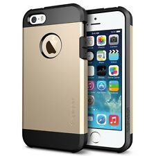 SGP Spigen Tough Armor case per iPhone 5 5S champagne gold