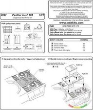 CMK 2027 1/72 Resin WWII German Panther Ausf.A/D Engine Set for REVELL