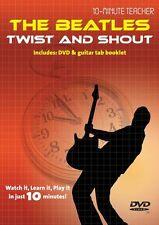 10 minutos de profesores de los Beatles Twist & Shout Aprende A Tocar La Etiqueta Guitarra Dvd