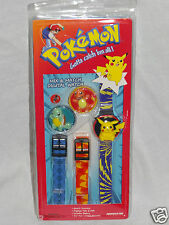 New In Package Pokemon Pikachu Mix And Match Digital Watch