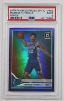 2019-20 Donruss Optic Matisse Thybulle Rated Rookie RC Purple Holo #192 PSA 9