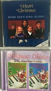 2 x CD'S ~ THE HEART OF CHRISTMAS, CHILDREN'S CHOICE 40  Songs and Carols