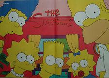The Simpsons Poster neu + Sticker