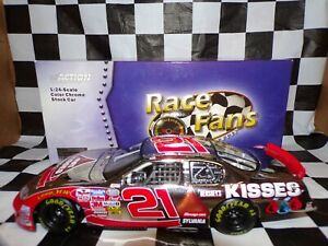 Kevin Harvick #21 Special Edition Hershey's KISSES 2004 1:24 Race Fans 105910