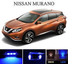 Ultra Blue Vanity / Sun visor  LED light Bulbs for Nissan Murano (4 Pcs)