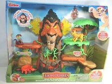 Disney Junior The Lion Guard Rise of Scar Playset With Kion Figure - Brand New