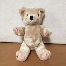 "WONDERFUL 12"" tall Jointed Teddy Bear  Vintage Antique Stuffed Plush Animal AR59"