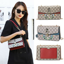 Woman Diamonds Bee Messenger Purses Embroidered Shoulder Bags Crossbody Handbag