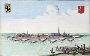 Reproduction plan ancien - La Bassée vers 1649