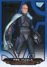 Star Wars Galactic Files Reborn Blue Parallel Base Card ACW-19 Pre Vizsla
